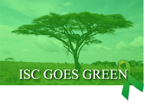 ISC GOES GREEN
